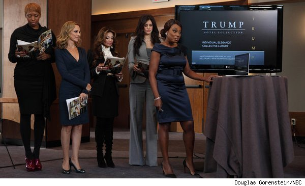 'The Celebrity Apprentice' women's team presents Trump hotel campaign