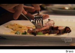Rare Lamb on 'Top Chef Masters'