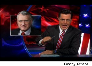 Colbert Tweets Non-Facts on Jon Kyl