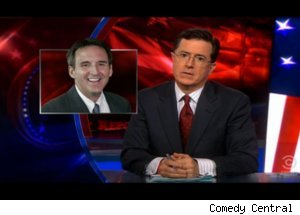 'Colbert' Talks Pawlenty on 'Piers Morgan'