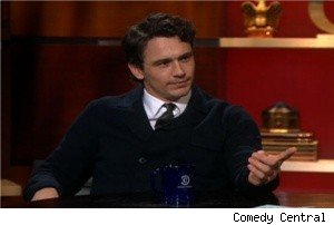 James Franco on 'The Colbert Report'