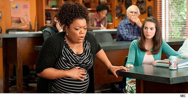 Shirley goes into labor on 'Community'