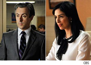 Alan Cumming, Sarah Silverman, The Good Wife