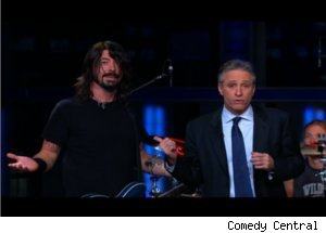 Dave Grohl, Foo Fighters on 'Daily Show'