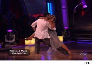 Kirstie Alley and Maksim Chmerkovskiy, 'Dancing with the Stars'
