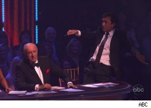 Len Goodman &amp; Bruno Tonioli, 'Dancing with the Stars'