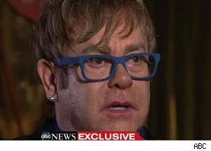 Elton John's Advice to Royal Couple: 'Enjoy It While You Can'