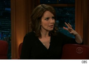 Tina Fey Talks Pregnancy on 'Late Late'