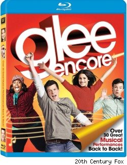 Glee Encore blu-ray