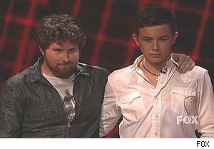 Casey and Scotty on 'American Idol'