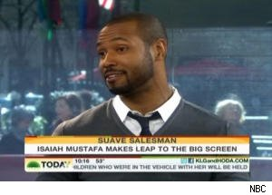 Isaiah Mustafa Learns of First Feature Role While Half-Naked