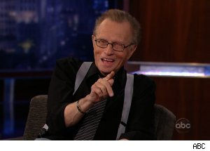 Larry King, 'Jimmy Kimmel Live'