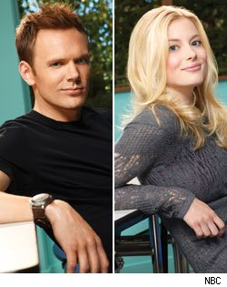 Joel McHale & Gillian Jacobs, 'Community'