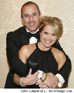 Katie Couric, Matt Lauer
