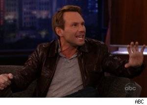 Christian Slater on 'Jimmy Kimmel Live'