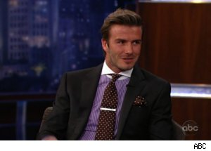 David Beckham on 'Jimmy Kimmel Live'