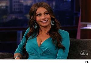 Sofia Vergara on 'Jimmy Kimmel Live'