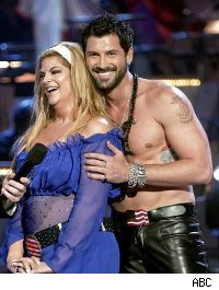 Kirstie Alley and Maksim Chmerkovksiy