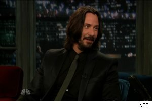 Keanu Reeves, 'Late Night with Jimmy Fallon'