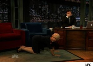 Helen Mirren, 'Late Night with Jimmy Fallon'