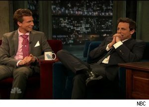 Josh Meyers &amp; Seth Meyers, 'Late Night with Jimmy Fallon'