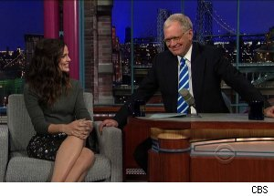 Jennifer Garner, 'Late Show with David Letterman'
