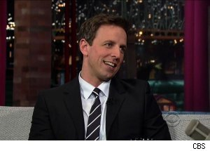 Seth Meyers, 'Late Show with David Letterman'