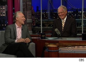 Bill Maher, 'Late Show with David Letterman'
