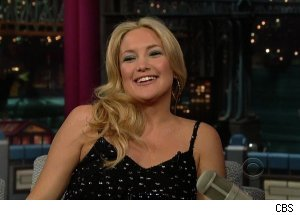 Kate Hudson, 'Late Show with David Letterman'