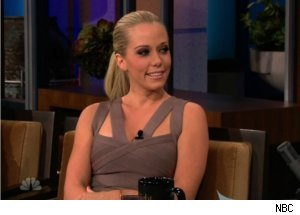 Kendra Wilkinson Talks Hef on 'Tonight'