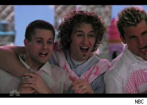 Matthew Morrison in 'Marci X' Gay Boy Band