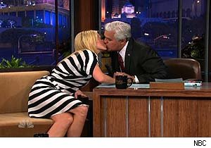 Chelsea Handler and Jay Leno on 'The Tonight Show'