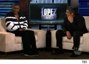 Tracy Morgan Talks Michelle Obama on 'Lopez Tonight'