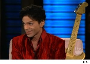 Prince Talks Covers on 'Lopez Tonight'