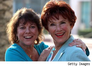 Marion Ross, Erin Moran, Happy Days