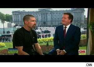 Matthew Fox, Piers Morgan