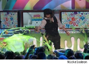 Johnny Depp, 'Nickelodeon's 2011 Kid's Choice Awards'
