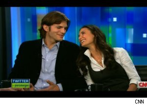 Ashton Kutcher, Demi Moore on 'Piers Morgan'