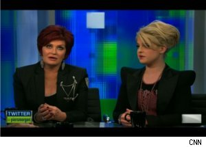 Sharon, Kelly Osbourne on 'Piers Morgan Tonight'