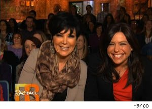 Kris Jenner Plays a Round of Q&A on 'Rachael Ray'