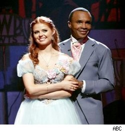 Sugar Ray Leonard and Anna Trebunskaya