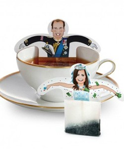 William and Kate tea bags