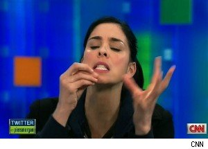 Sarah Silverman on 'Piers Morgan Tonight'