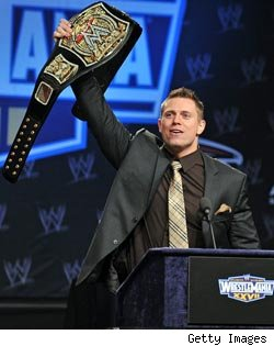 The Miz Stars on WWE WrestleMania 27