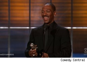 Eddie Murphy wins Icon Award, 'The Comedy Awards'