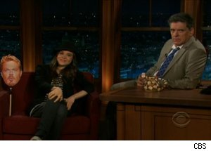 Ellen Page, 'The Late Late Show with Craig Ferguson'