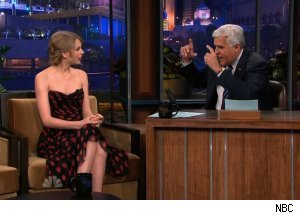 Taylor Swift, 'The Tonight Show with Jay Leno'