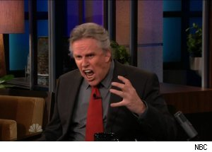 Gary Busey, 'The Tonight Show with Jay Leno' talking 'Celebrity Apprentice'