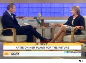 Matt Lauer interviews Katie Couric on 'Today'