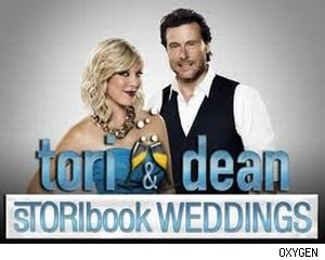 A new 'Tori & Dean: sTORIbook Weddings' airs at 10PM on OXYGEN.
